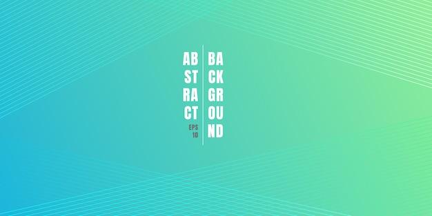 Fundo gradiente de cor vibrante azul e verde abstrato Vetor Premium