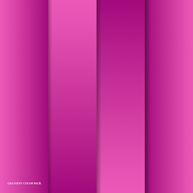 Fundo gradiente de cor Vetor Premium