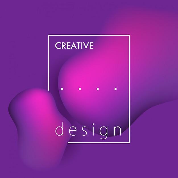 Fundo gradiente de design Vetor grátis