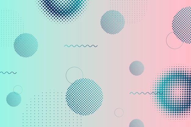 Fundo gradiente de meio-tom Vetor grátis