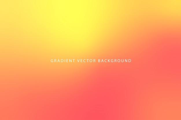 Fundo gradiente embaçado bonito Vetor Premium