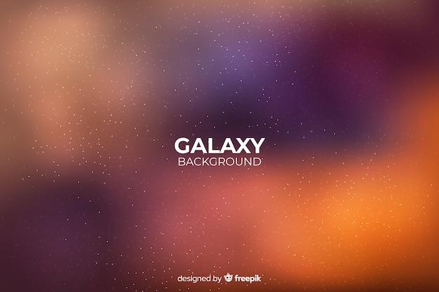 Fundo gradiente galáxia abstrata Vetor grátis