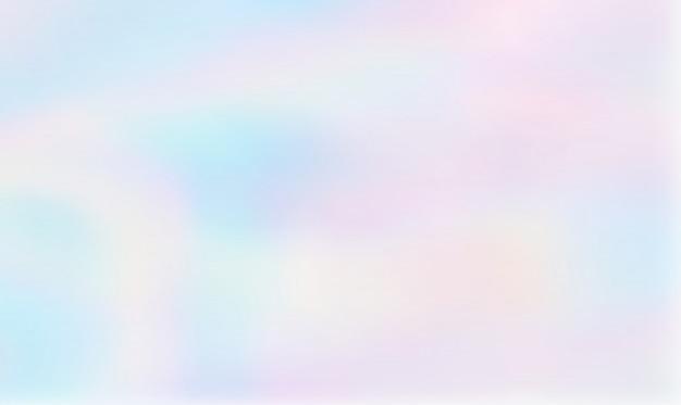 Fundo gradiente holográfico abstrata Vetor Premium