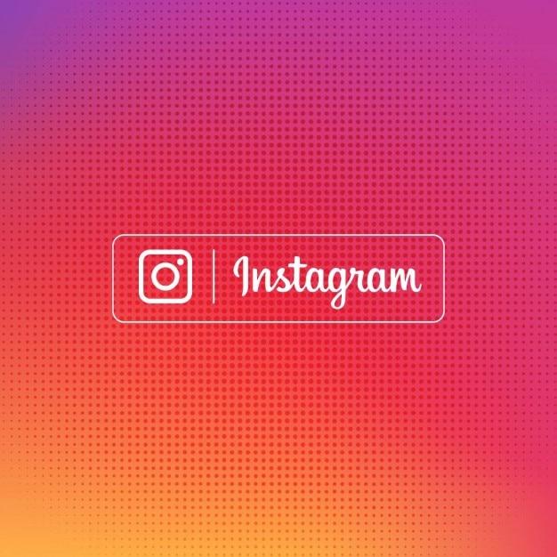 Fundo gradiente instagram Vetor grátis