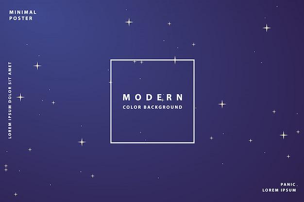 Fundo gradiente moderno com cor de gradiente de estilo colorido Vetor Premium