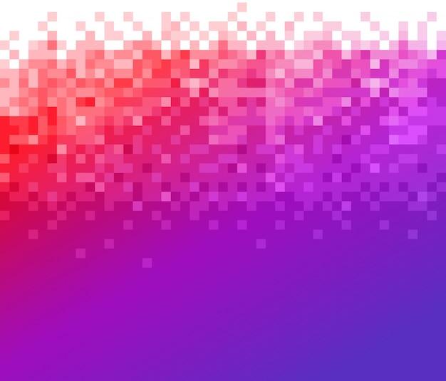 Fundo gradiente mosaico Vetor Premium