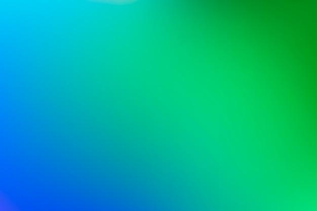 Fundo gradiente no conceito de tons de verde Vetor grátis