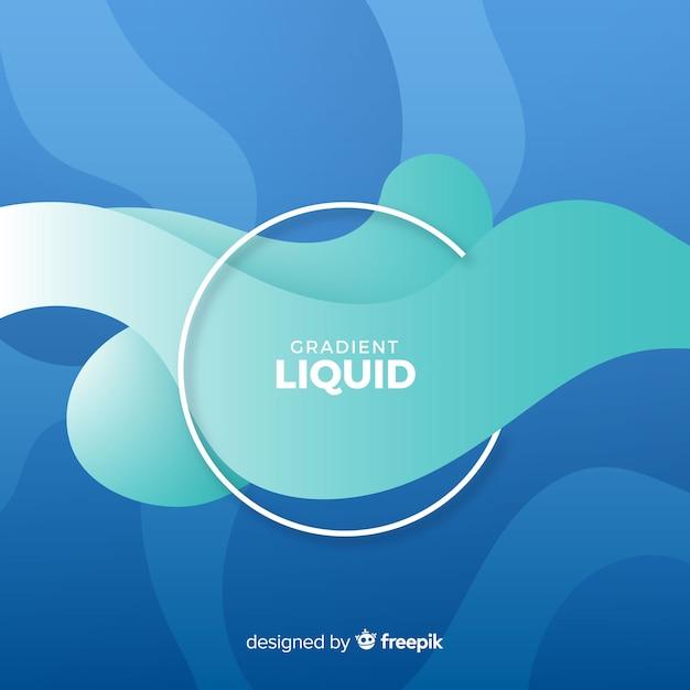 Fundo líquido abstrato Vetor grátis