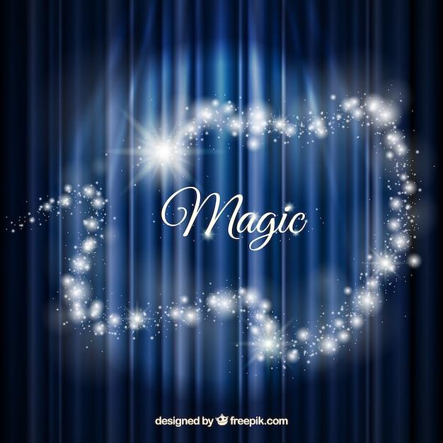 Fundo mágico Vetor grátis