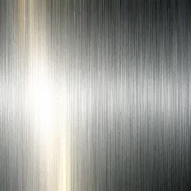 Fundo metálico escovado Vetor grátis