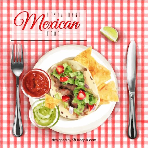 Comida Mexicana Vetores E Fotos Baixar Gratis