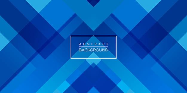 Fundo moderno abstrato azul tecnologia Vetor Premium