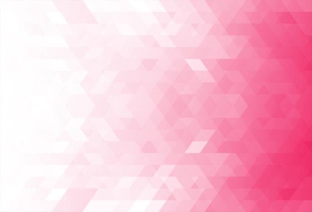 Fundo moderno formas geométricas rosa Vetor grátis