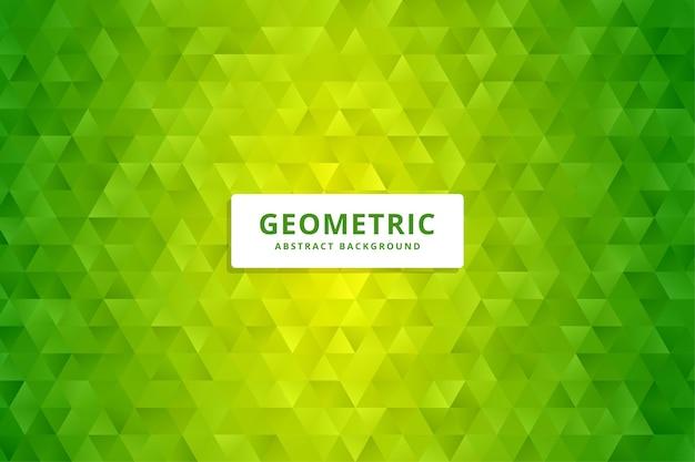 Fundo poligonal geométrico abstrato. fundo colorido de baixo poli. Vetor Premium