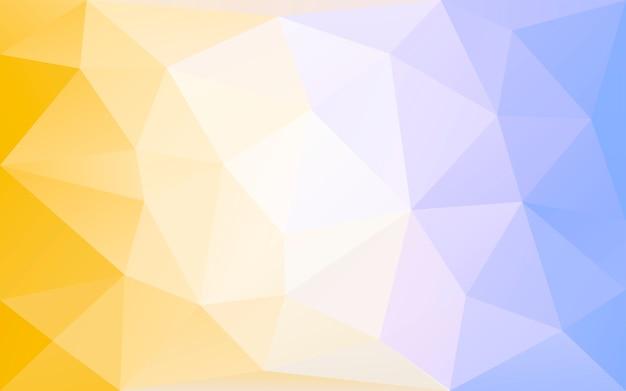 Fundo poligonal Vetor grátis