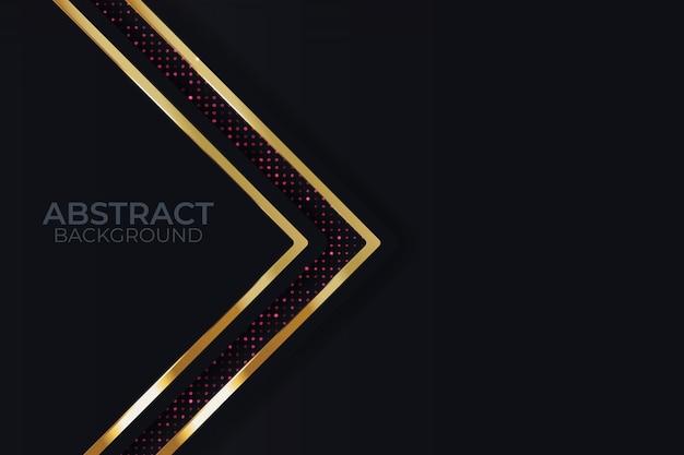 Fundo preto de metal Vetor Premium