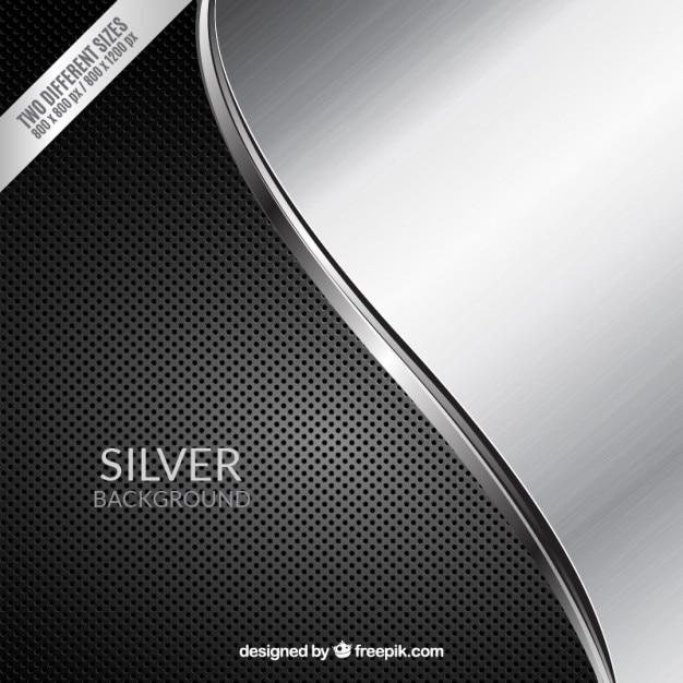Fundo preto e cinzento com onda Vetor Premium