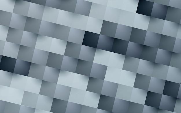 Fundo quadrado abstrato moderno Vetor Premium