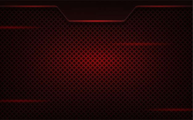 Fundo realista abstrato vermelho escuro Vetor Premium