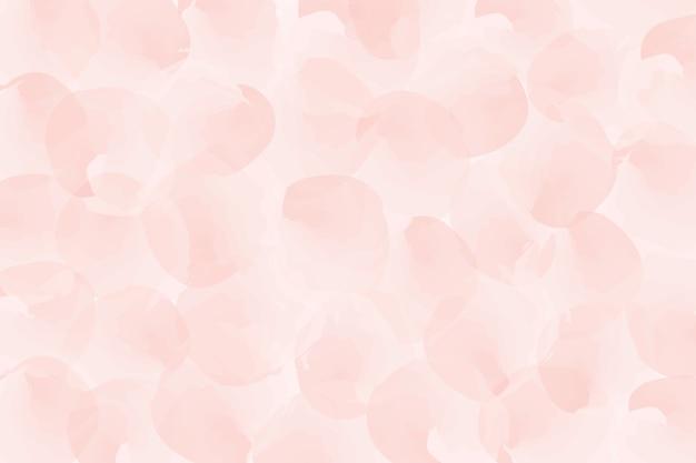 Fundo rosa aquarela. Vetor Premium