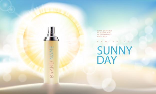 Fundo rosa com produtos cosméticos hidratantes premium Vetor grátis