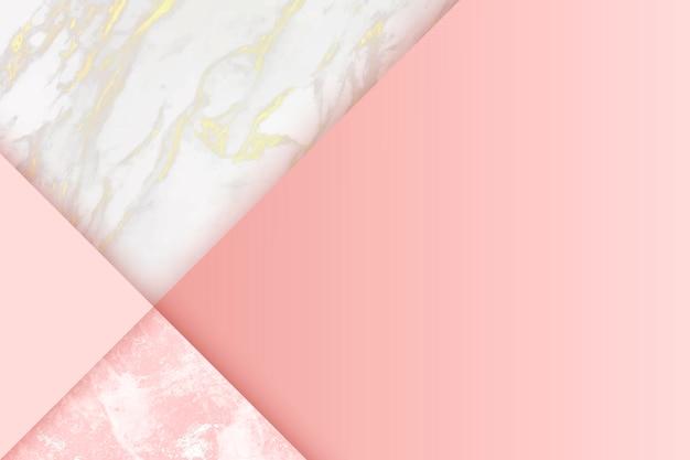 Fundo rosa feminino Vetor grátis