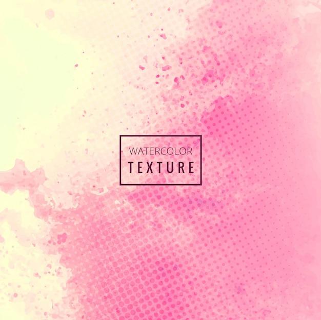 Fundo rosa moderno aguarela Vetor grátis