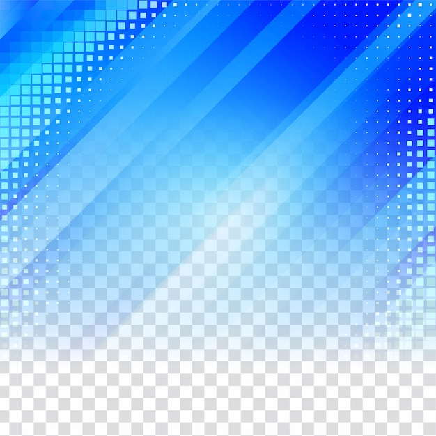 Fundo transparente geométrico azul Vetor grátis