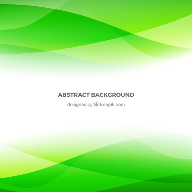 Fundo verde abstrato | Baixar vetores grátis