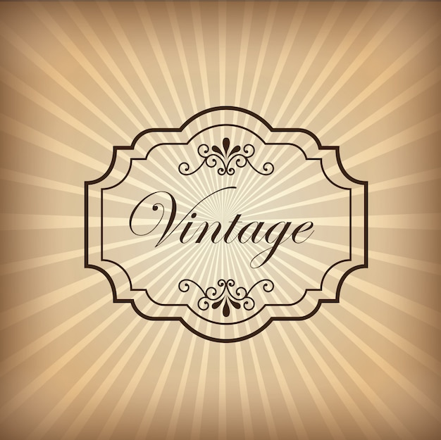 Fundo vintage Vetor grátis