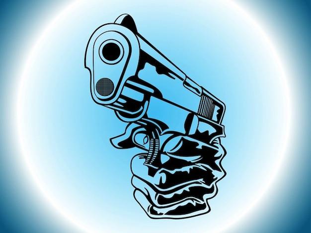 Resultado de imagem para desenho pistola estilizado