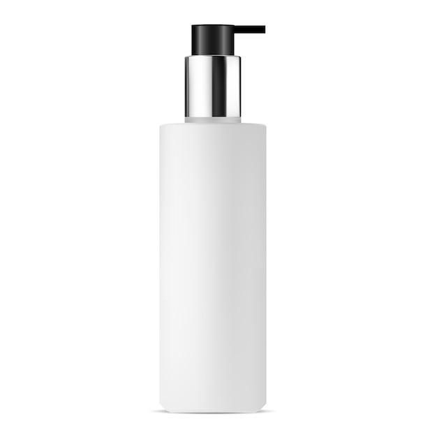 Garrafa de bomba cosmética Vetor Premium
