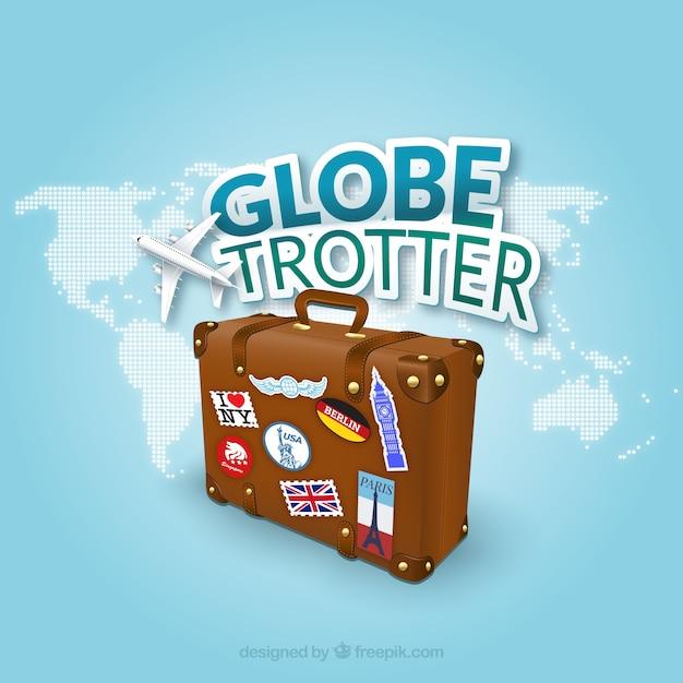 Globetrotter Vetor grátis