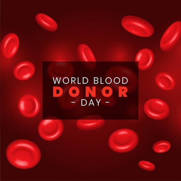 Glóbulos vermelhos rbc Vetor grátis