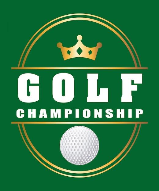 Golfe Vetor Premium