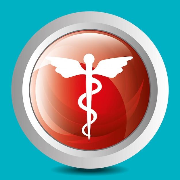 Gráfico de saúde médico Vetor grátis