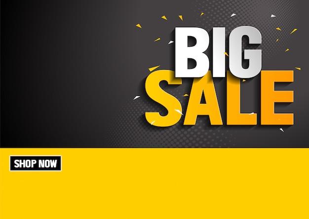Grande venda Vetor Premium