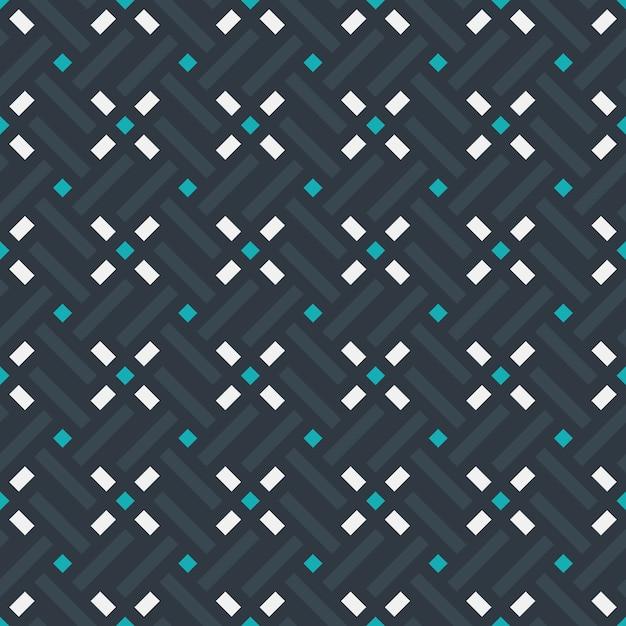 Graphic design decoration abstract padrão sem emenda Vetor Premium
