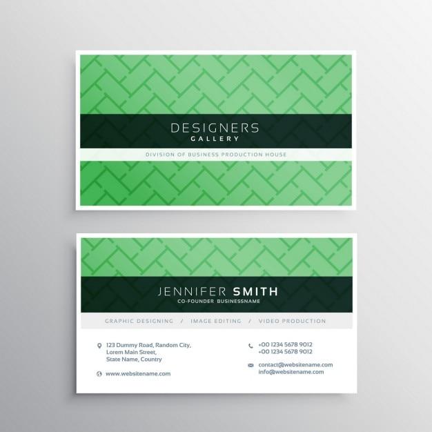 Green card mnima negcio elegante com padro de formas geomtricas green card mnima negcio elegante com padro de formas geomtricas vetor grtis reheart Choice Image