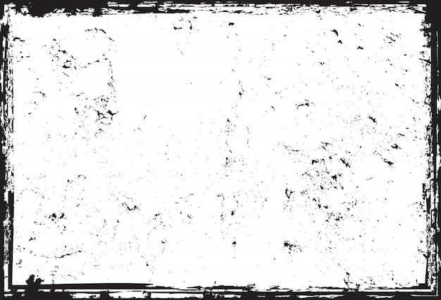 Grunge angustiado textura Vetor Premium