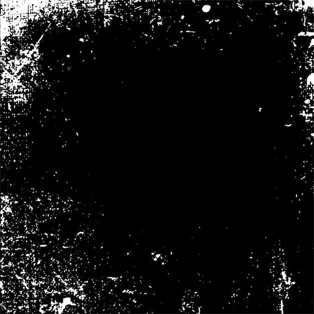 Grunge monocromático angustiado textura vector Vetor grátis