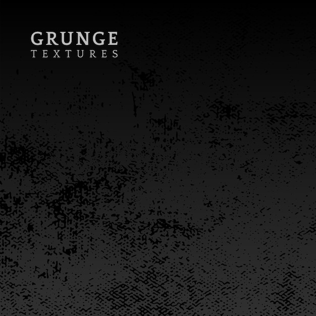 Grunge preto angustiado textura vector Vetor grátis