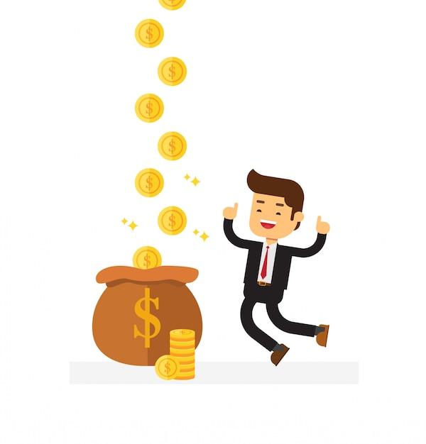 Money Cartoon Royalty-free Clip Art - Rich Cartoon - Png ... |More Money Cartoon