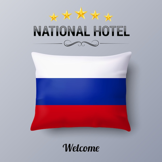 Hotel nacional Vetor Premium
