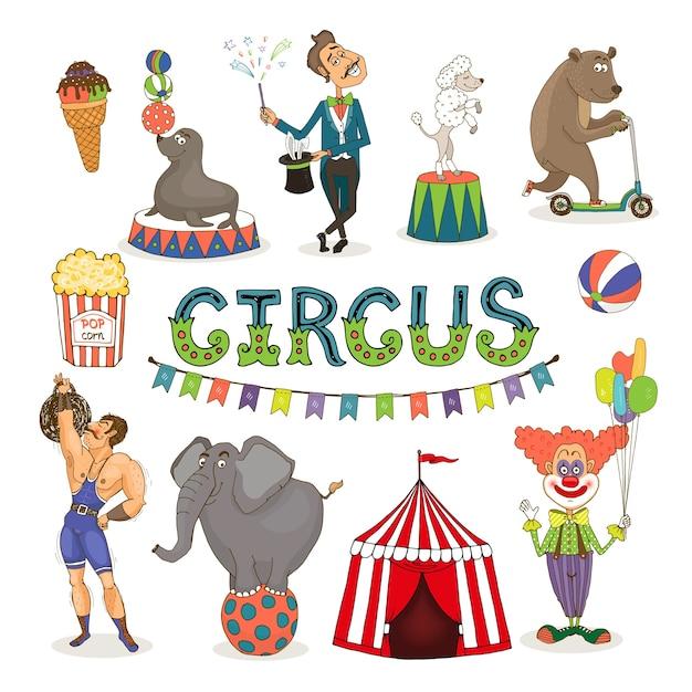 Ícone de parque de diversões e parque de diversões de vetor colorido com um sorvete Vetor grátis