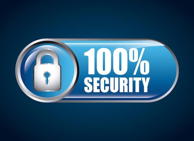 Ícone de segurança Vetor Premium