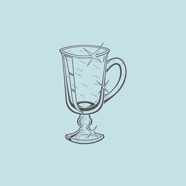 Ícone de xícara de café Vetor Premium