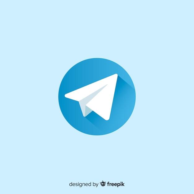 Ícone do telegrama Vetor grátis
