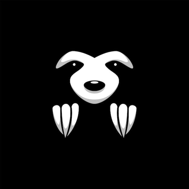 Ilustração animal de preguiça Vetor Premium