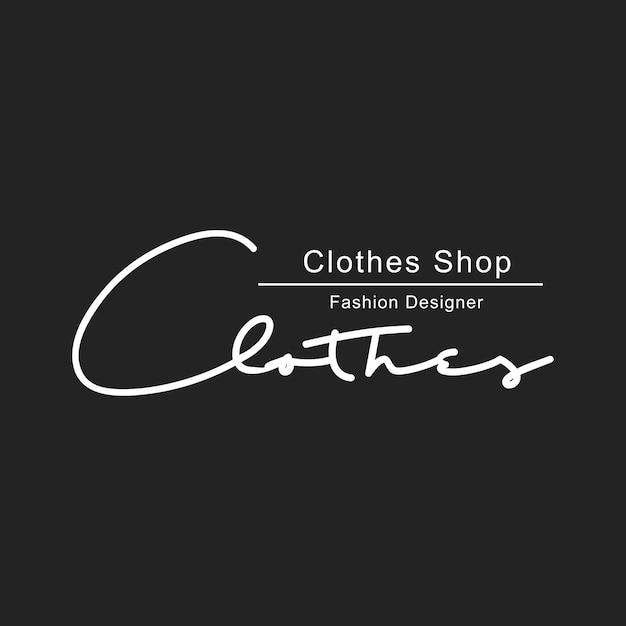 Ilustração da bandeira de carimbo de logotipo de loja boutique Vetor grátis